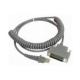 Cable enroulé RS-232, 25P, Female -CAB-363