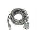 Câble enroulé, RS-232, 9P, Femelle - CAB-362