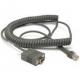Cable enroulé, RS-232, 9P, Female - CAB-408